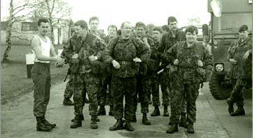 Pete McLellan - Army PT instructor.